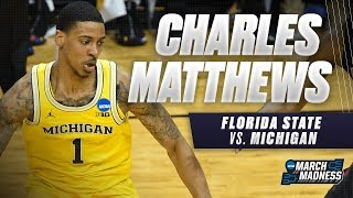 Michigan's Charles Matthews carries the Wolverines to the Final Four