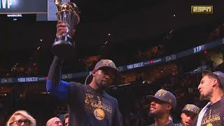 Kevin Durant Wins MVP of the 2018 NBA Finals Over Stephen Curry! Warriors vs Cavaliers Game 4