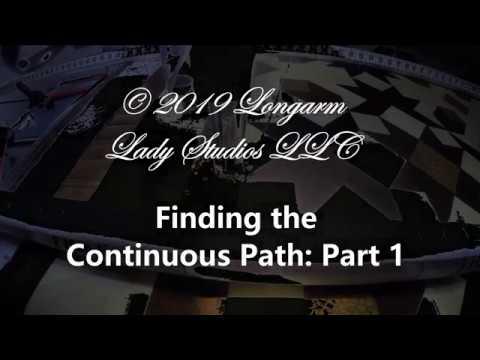 Fiding the Continuous Path; Part 1