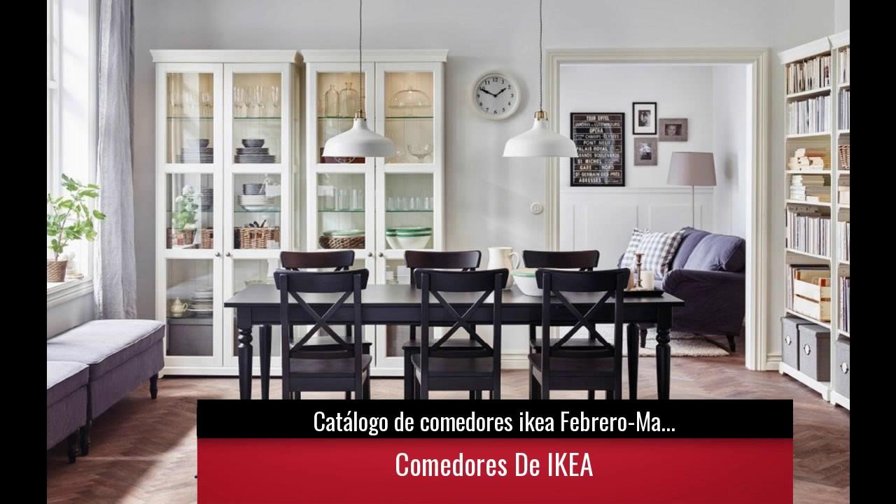 Cat logo de comedores ikea febrero marzo youtube for Catalogo ikea muebles salon comedor
