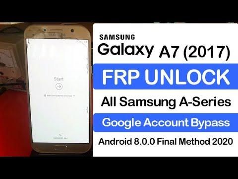 Samsung Galaxy A7 2017 (SM-A720F) FRP Unlock Google Account Bypass Andro...