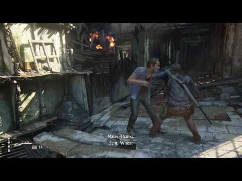 Uncharted 4. This action scene!