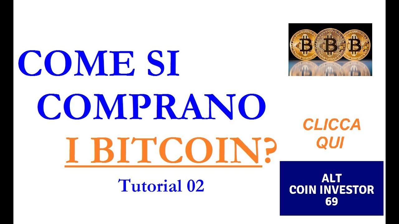 come depositare denaro sul conto bitcoin