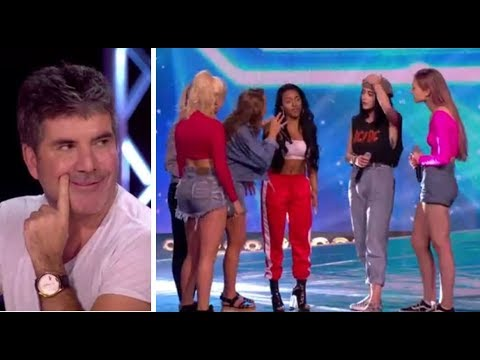 Simon Cowell PULLS a Girl From Her Band To Join NEW Girl Band | The X Factor UK 2017