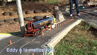 Slalom  Camion RC guadeloupe avril  2016