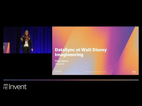 Rapid Online Data Transfer with AWS DataSync - Walt Disney Imagineering