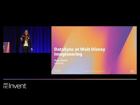 Rapid Online Data Transfer with AWS DataSync - Walt Disney Imagineering