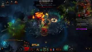 Diablo III Greater Rifts noob necromancer gameplay T4