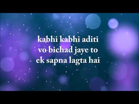 Kabhi Kabhi Aditi [ Common Status ] Creation