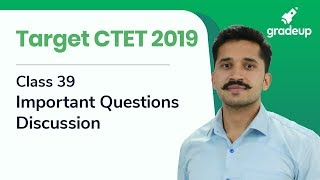 CTET 2019 | Important Questions Discussion| CDP By Ajay Singh Kharb