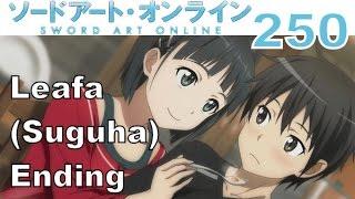 Sword Art Online: Hollow Fragment - PS VITA Walkthrough 250 - Leafa (Sugu) Ending - Love For Brother