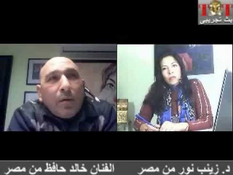 Tut TV-Art Chat-28/1/2012- with z visual artist Khaled Hafez