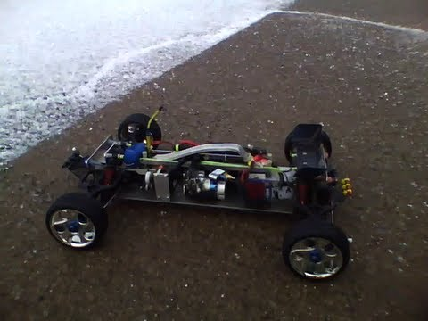Velineon Vxl Powered Home Made Rc Car Chassis 7th Scale Wmv