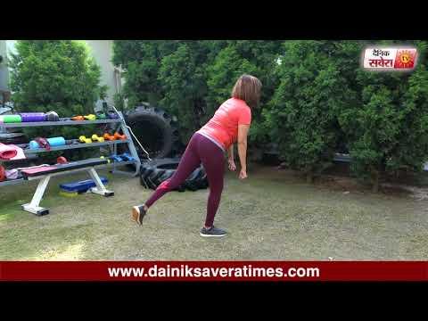 Savera Workouts Episode 114 : Let's get fit together