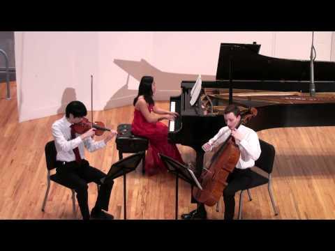 Saint-Saëns Piano Trio No.1 in F major, Op.18, complete
