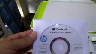 INSTALACIÓN DE IMPRESORA  MULTIFUNCIONAL HP Deskjet Ink Advantage  2135-All in One