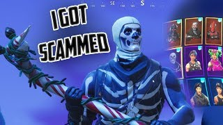 So My Rarest Fortnite Account Got Scammed...