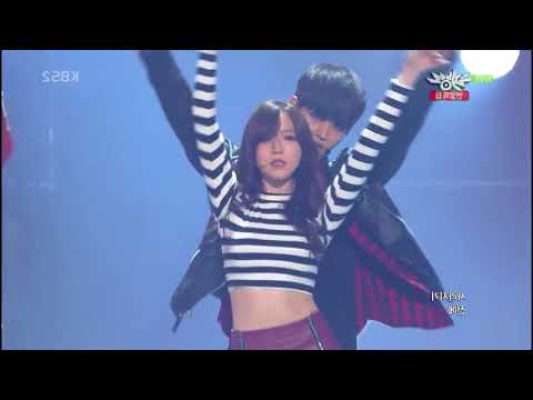 131220 Girl's Day + VIXX - Now (Trouble Maker) (mirror) ตัด