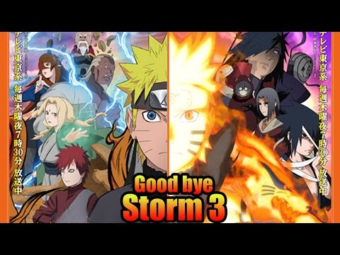 Naruto : Good Bye Storm 3, Welcome Storm Revolution!
