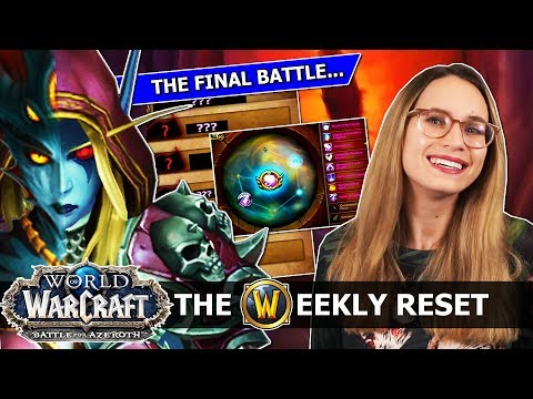 8.2 Reveals The Final Boss Of BfA... Secrets, The New Azerite Meta & Mount Equipment: WoW News thumbnail