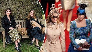 Princesses Eugenie & Beatrice admit they've 'Cried' over intense public ridicule