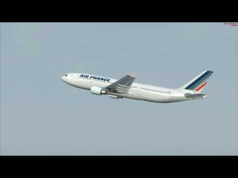 vol  ParisCDG à Dakar Airbus 330 200 Air France vol commenté