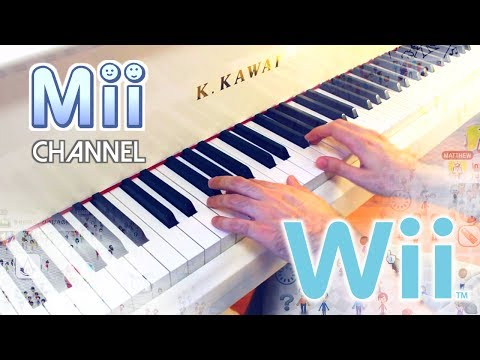 🎵 Mii Channel theme but it's played on a piano