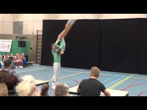 Ben Stassen & Minne Geladi Acro, Wedstrijd Stardancers 17.01.2016