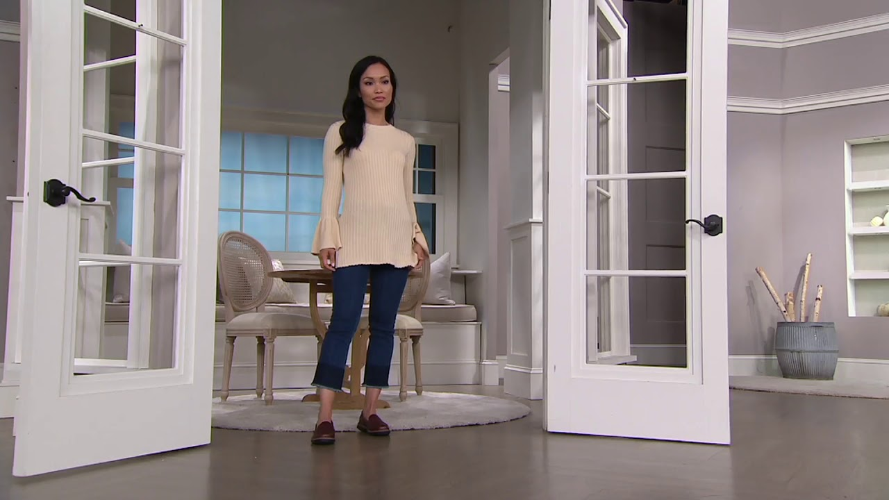2d304a83d25 Clarks Leather Slip-on Loafers - Raisie Eletta on QVC - YouTube