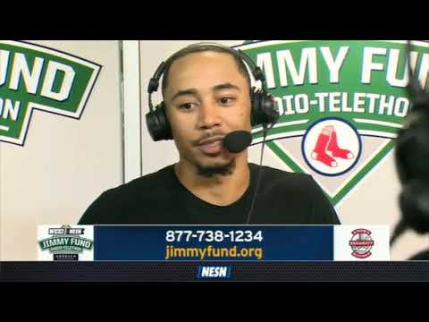 WEEI/NESN Jimmy Fund Radio-Telethon: Red Sox Outfielders