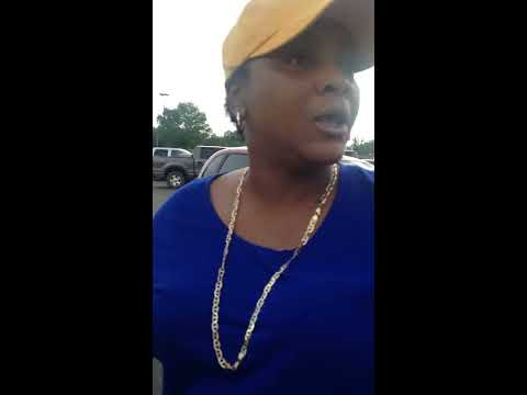 Racist COUPLE in Amory, MS Walmart Parking lot