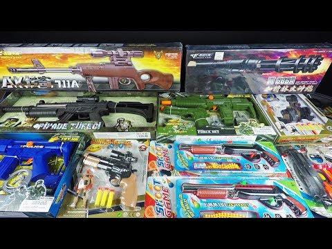 AK868 Assault Rifle Lights /& Sounds Toy Gun Full Scale Defence Weapon Kids Gun