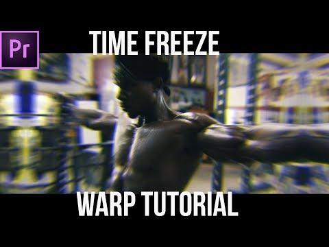 Time Freeze Warp Effect | Adobe Premiere Pro Tutorial |