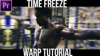 Time Freeze Warp Effect   Adobe Premiere Pro Tutorial  