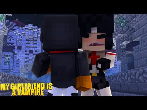 MY GIRLFRIEND IS A VAMPIRE - Minecraft Custom Mod Adventure