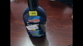 Обзор и отзыв: Полироль Turtle Wax Color Magic с тонирующим карандашом