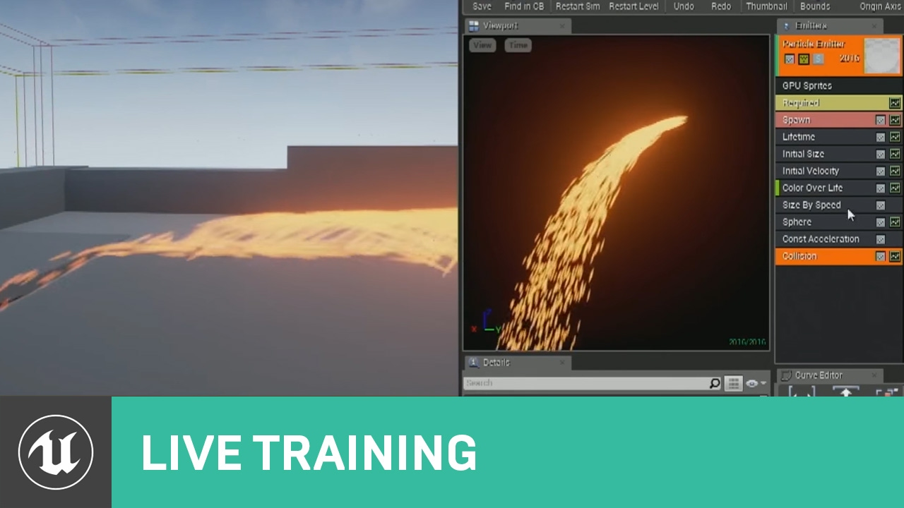 Particle Effect Collision | Live Training | Unreal Engine