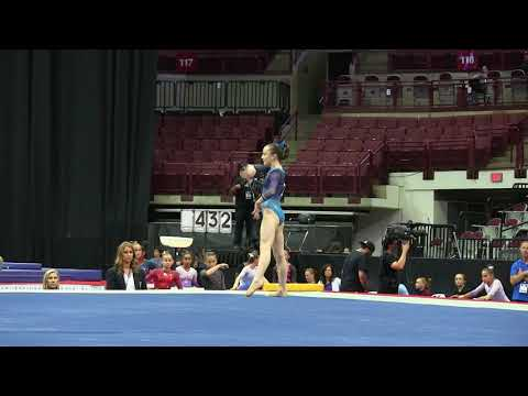 Sophia Butler  Floor Exercise  2018 GK U.S. Classic  Junior Competition