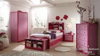 14 Cute Girl's Bedroom Designs Like From The Fairy Tales