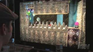 LittleBigPlanet PlayStation 3 Gameplay - Push-Pull (Off