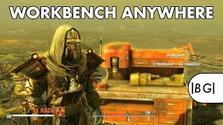 Fallout 4 PS4 Mods #2 | Workbench Anywhere & Cheat Container! (Mod Review)