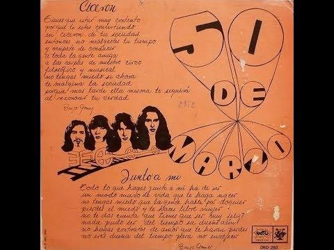 """50 DE MARZO en """"Cicerón"""" 1971"""