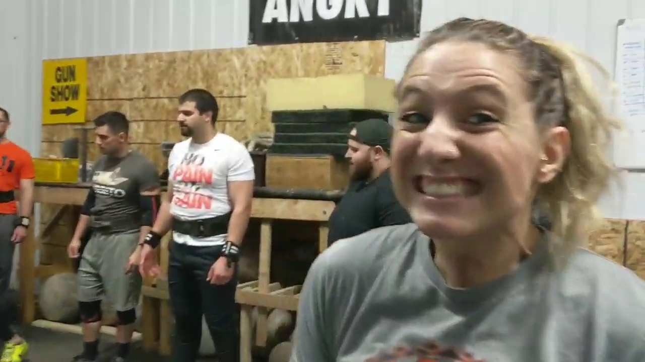 Event Day at Iron and Stone Strength Gym
