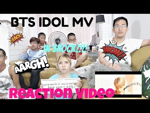 BTS IDOL MV REACTION VIDEO - STYLE WITCH