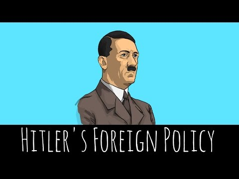 Hitler's Foreign Policy Aims - The Lead Up To WW2 - GCSE History