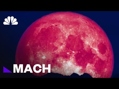Why Junes Strawberry Moon Is The Most Colorful Full Moon Of The Year