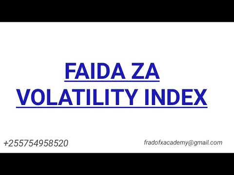 Advantages Of Volatility Index Over Currency