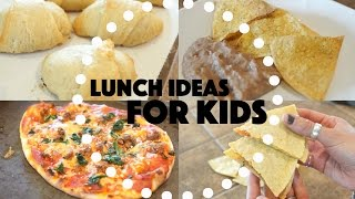 Lunch Ideas For Kids!!