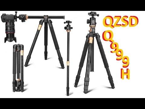 Штатив QZSD Q999H Многофункциональный трипод для фото и видео камер
