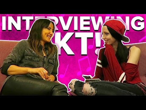 Amy Lee33 Interviews KT Tunstall!  |  Amy Lee33